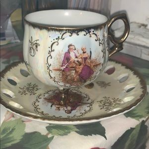 Other - Antique cup and tea pot